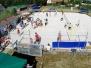 DJK Beachvolleyball-Turnier 2015 (Vogelperspektive)