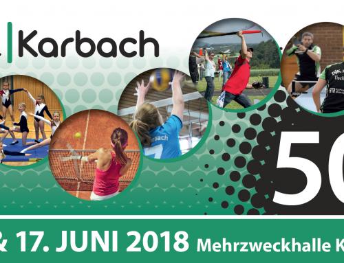 50-jähriges Gründungsjubiläum der DJK Karbach